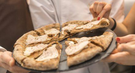 Pizza classica con farina Tipo Due