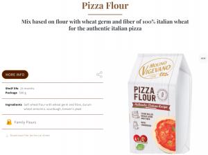Pizza Flour by Molino Vigevano