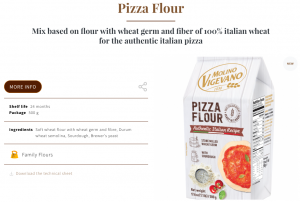 Pizza Flour by Molino Vigevano
